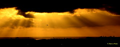 Sunset (Y. Peter Li Photography) Tags: sunset del mar san diego helicopter rays