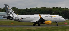 Airbus A320: 6535 EC-MFK A320-232(WL) Vueling Newcastle Airport (emdjt42) Tags: a320 newcastleairport vueling 6535 ecmfk