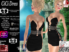 CiCi dress black (mysticdreams0607) Tags: eve black texture evening design outfit different dress lace formal sensual latest newest recent apparel physique maitreya slink casualsexy evemesh