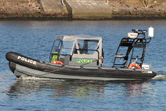 Police Scotland RHIB (corax71) Tags: uk scotland clyde greenock boat marine harbour britain united great transport police delta vessel maritime transportation gb rib launch firth rhib inverclyde firthofclyde
