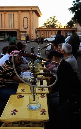 """Ägypten 1999 (080) Im Kaffehaus, Assuan • <a style=""""font-size:0.8em;"""" href=""""http://www.flickr.com/photos/69570948@N04/27165127661/"""" target=""""_blank"""">View on Flickr</a>"""