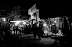 Around A Temple - Just A Street Shot, Lucknow (anandamoy) Tags: