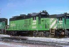 BN GP20 2061 (Chuck Zeiler) Tags: railroad bn locomotive 2061 chz emd gp20