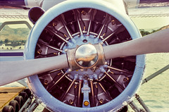 de Havilland DHC-2 Beaver - Radial Engine (Mister Electron) Tags: usa slr film 35mm airplane kodak aircraft aviation slide aeroplane beaver 35mmfilm transparency analogue pistons propeller ektachrome e200 spinner radial diapositive floatplane dehavilland aircooled nikonf70 lakechelan aeroengine radialengine dehavillandbeaver 35mmslr dhc2 silverhalide kodakektachromee200 pistonengine chelanairways