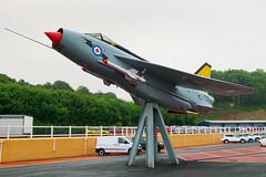 XS936 (hartlandmartin) Tags: plane cornwall fuji aircraft aviation flight jet aeroplane airline fujifilm liskeard englishelectric xm1 lightningf6 castleair castlemotors xs936