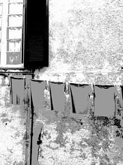 Panni stesi (Valde65) Tags: italia finestre centrostorico zena genova