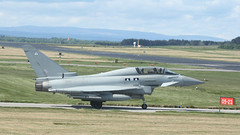 2 to Tango (likrwy) Tags: aircraft military royal eurofighter airforce typhoon raf lossiemouth zk380