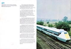 speed for the seventies 14 (smallritual) Tags: apt prototype 1973 britishrail hst highspeedtrain advancedpassengertrain