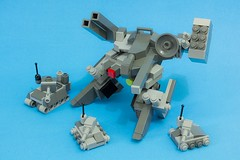 Heavy Artileri, Peace Keeper (yudho w) Tags: robot lego military mecha mech peacekeeper moc afol myowncreation legomoc