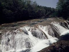 Niagara in Hokkaido (threepinner) Tags: summer fall mamiya japan river hokkaido   positive date f28 45mm hokkaidou 1000s selfdeveloped northernjapan sekor rdp3   m645 ohtaki