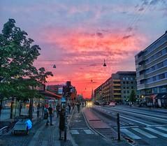 Copenhell Festival Sunset (mikkelfrimerrasmussen) Tags: sunset festival rock metal copenhagen 666 kbenhavn solnedgang christianshavn torvegade copenhell