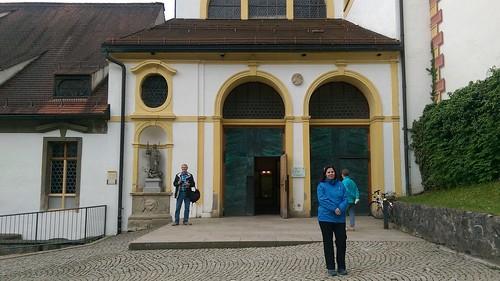 Eingang Pfarrkirche St. Mang, Füssen