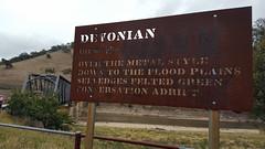 A stylish bit of poetry near Taemas bridge (ajft) Tags: bridge sign geotagged poetry australia newsouthwales aus cavan taemasbridge geo:zip=2582 cavanwest geo:lat=3500472222 geo:lon=14884833333