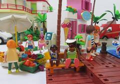 Harbor 22 (TimSpfd) Tags: playmobil harbor hotel diorama toys
