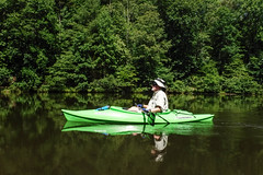 Lake Oolenoy Kayaking-24 (RandomConnections) Tags: us unitedstates southcarolina kayaking paddling pickens pickenscounty lakeoolenoy tablerockstatepark knobhistorical