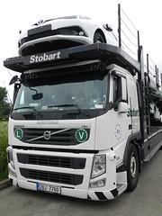 Photo of 2AJ7760 1107 Stobart Automotive Volvo Car Transporter