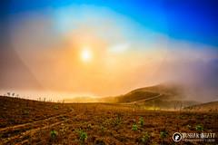 Magical Sunrise ! ! ! (tussar3) Tags: life travel blue friends light sky sun india mist mountain love nature sunshine skyline clouds sunrise canon landscape photography nikon ray awesome adventure incredible madikeri photooftheday coorge talakaveri breathtakingview tusharbhatt