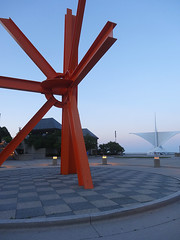 World's Largest Asterisk (ensign_beedrill) Tags: milwaukeeartmuseum markdisuvero sculptures thecalling milwaukeetrip2016