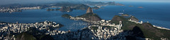 Panorama - Rio de Janeiro (Marcos Jerlich) Tags: light brazil panorama mountain colors riodejaneiro canon landscape seaside cityscape lightroom canon700d canont5i marcosjerlich