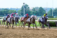 Down the stretch (southpaw captures) Tags: belmont jr creator destin ortiz stakes 2016 belmontstakes irad