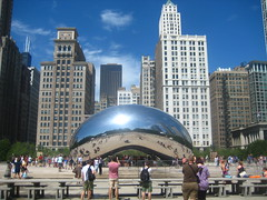 Chicago, the bean (Gladys Rojas) Tags: chicago thebean cloudgate