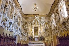Serpotta carvings, Castelbuono, Sicily (Ken Barley) Tags: italy castle sicily carvings castelbuono castlechapel serpotta