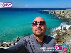 Foto in Pegno n 2029 (Luca Abete ONEphotoONEday) Tags: sea panorama me mare sicily 20 giugno sicilia favignana selfie 2029 2016