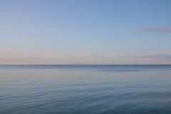 Calm waters (Infomastern) Tags: bridge sea sky water himmel tranquility calm serenity bro vatten hav skanr
