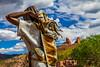 Artistic Sedona (Elespics) Tags: arizona statue sedona