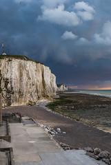 Falaises d'Ault (acquimat4) Tags: sea mer france meer cliffs picardie falaises kste felsen ault kreidefelsen