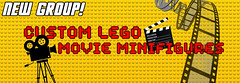 NEW GROUP! Custom Lego Movie Minifigures! (Luigi Fan) Tags: movies cinema film lego custom minifigue