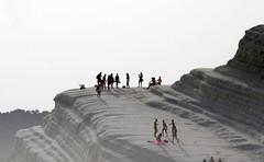 people_Scala_dei_Turchi_5094 (Manohar_Auroville) Tags: girls sea italy white beach beauty seaside rocks perspectives special scala sicily luigi dei agrigento fedele turchi scaladeiturchi manohar