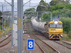 2928 has landed (sth475) Tags: railroad summer train diesel railway overcast loco australia nsw limestone locomotive ge freight nrc pn wollongong illawarra unanderra goninan nrclass nr71 cv409i nr94 wwwaiworgau