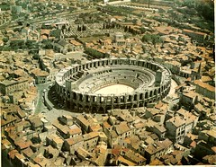 Ancient Rome. Amphitheater of Arles (Arnes de Arles), France (mike catalonian) Tags: france amphitheater arles ancientrome gaul