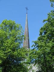 Vadstena 3 (greger.ravik) Tags: tornspira kors kyrktorn kyrktak church cross rooftop vadstena klosterkyrka tro kristendom