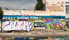 Liverpool Graffiti (cocabeenslinky) Tags: city uk england urban streetart art june liverpool lumix graffiti photo artist photos culture panasonic salem graff artiste rone merseyside 2016 quazar gizit dmcg6 cocabeenslinky