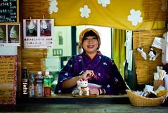 Japanese Dessert Girl (sohiroshi) Tags: leica m8 50mm summilux hokkaido streetphotography notvoigtlander