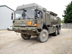 MAN Up (Al Henderson) Tags: man truck army british cranfield refueller gl88ab
