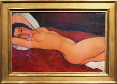 Amedeo Modigliani - Reclining Nude 1917 (ahisgett) Tags: new york art museum met metropolitian