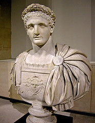 Ancient Rome. Portrait bust of 11th Emperor  Domitian (81-96 AD), flavian dynasty (mike catalonian) Tags: dynasty emperor ancientrome flavian domitian 1stcenturyad