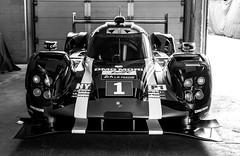 Garage Queen (romanboed) Tags: leica bw holland netherlands car garage pit racing m porsche winner hybrid 50 endurance circuit summilux zandvoort lemans gp racer 919 240 lmp1