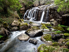 Granite Falls (markbev99) Tags: water forest river landscape flow waterfall stream