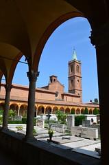 DSC_5034 (aktarian) Tags: bologna italy italija italia shadows sence shadowplay cerkev church katedrala cathedral pokopalie cemetery