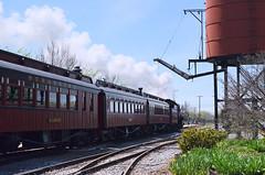 2013-04-21 (65) Strasburg Railroad (JLeeFleenor) Tags: railroad museum train photography photos pennsylvania antique railway historic pa strasburgrailroad oldcars watertank antiquecars passengercars