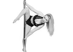Pole Twisters : Natasha (HyperXP.com) Tags: boy hot sexy male girl female pose dance dancer pole acrobatics trick fitness xpole poletwister
