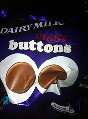 Snack - May 7- Cadbury's buttons (Two Fat Laddies) Tags: food blog chocolate buttons meals meal diet cadburys unhealthy dieting twofatladdies uploaded:by=flickrmobile flickriosapp:filter=nofilter