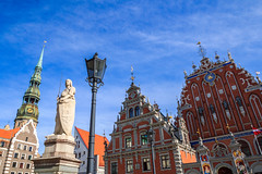 Greetings from beautiful Riga, Latvia (UNESCO world heritage) (Frans.Sellies (off for a while)) Tags: world old city trip travel vacation holiday tourism lamp beautiful architecture wonderful town spring nice fantastic perfect day tour place flag postcard awesome sightseeing central visit location tourist medieval best latvia clear journey destination sight traveling lovely visiting exploration majestic incredible touring breathtaking riga latvian frhling vr lettland letland img5942