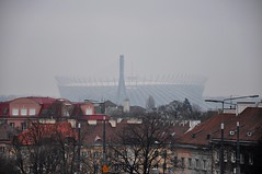Pologne : Varsovie...le stadium (Julien DEVERT) Tags: stadium varsovie pologne