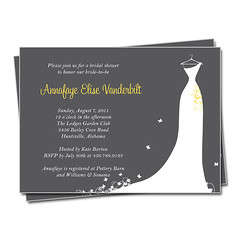 Bridal Shower Invitation (rocketgirls) Tags: shower invitation bridal