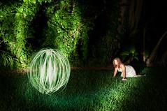 Things that aren't can't BE! (Orlando Photo Chic) Tags: lighting longexposure lightpainting night dream orb flashlight nightmare